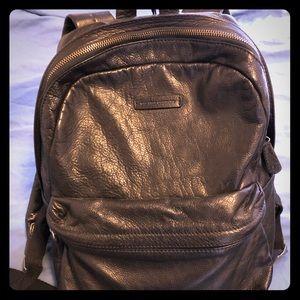 Men's Frye Leather Backpack (black)